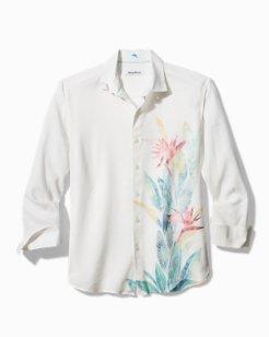 Bardez Blooms Stretch-Linen Shirt