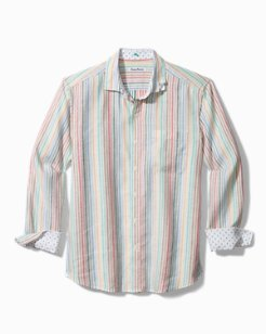 Jaipur Stripe Stretch-Linen Shirt