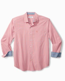 Newport Coast Gingham Grove IslandZone® Shirt