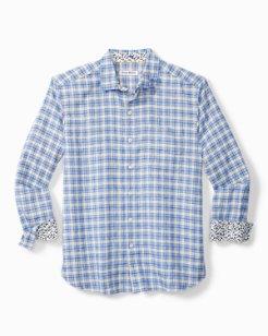 Kona Check Stretch-Linen Shirt