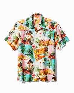 Palm Springs Patio Camp Shirt