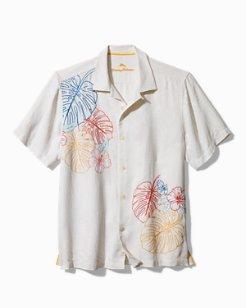 Sketched Tropics Camp Shirt