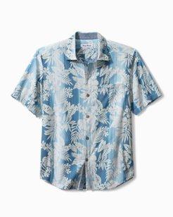 Bluewater Stripe Camp Shirt