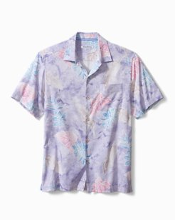 Saltwater Fronds Camp Shirt