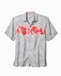 Hibiscus Row Linen Camp Shirt
