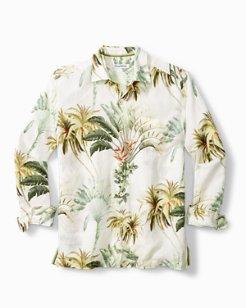 Palms Royale Linen Long-Sleeve Shirt