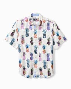 Pop Art Pineapple Camp Shirt