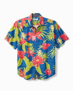 Mahala Blooms IslandZone® Camp Shirt