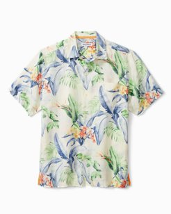 Floral And Fronds Camp Shirt