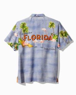Flock Party Florida Camp Shirt