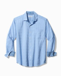Costa Capri Stretch-Linen Shirt