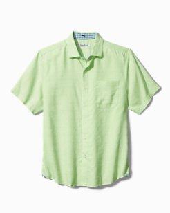 Costa Capri Stretch-Linen Camp Shirt