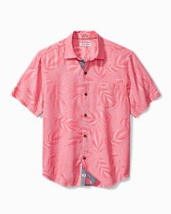 Coconut Point Jacquard Camp Shirt