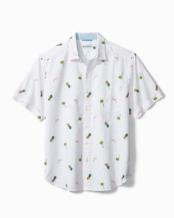 Flamingo Tango Camp Shirt