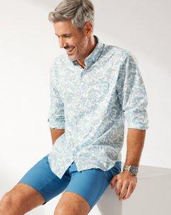 Newport Coast Blue Vines IslandZone® Shirt