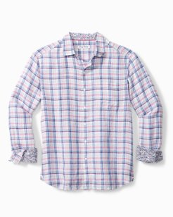 Charming Check Linen Shirt