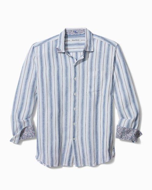 Splendor Stripe Linen Shirt
