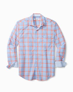 Newport Coast Palmira Plaid IslandZone® Shirt