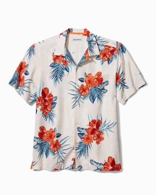 Hilo Hibiscus Camp Shirt