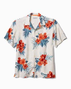 Hilo Hibiscus Camp Shirt