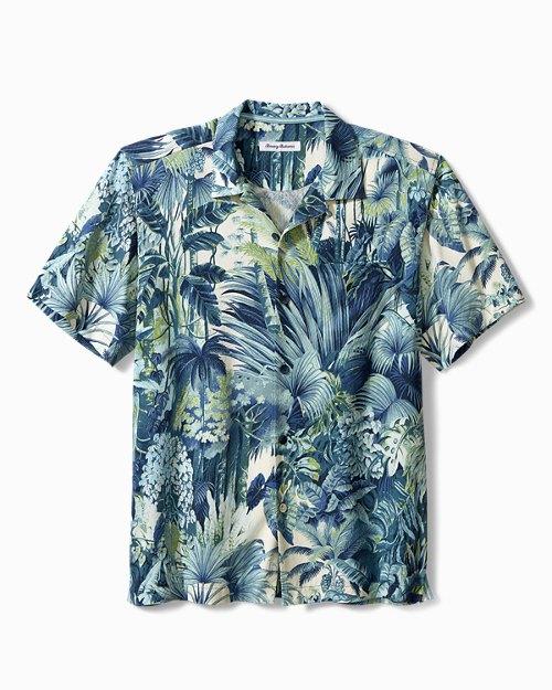 "/""Rhum les gars/"" XXL-RARE Couleurs Tommy Bahama soie brodée Shirt"
