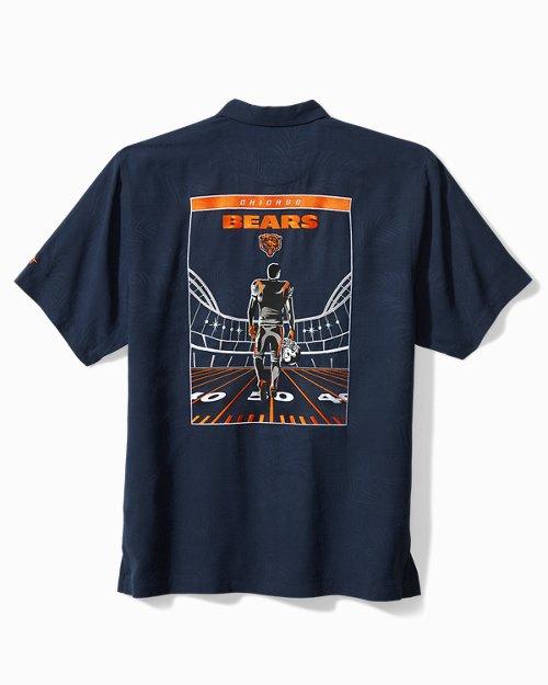 NFL Roar Of The Crowd Silk Camp Shirt