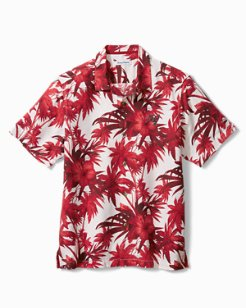 NFL Harbor Island Hibiscus Camp Shirt