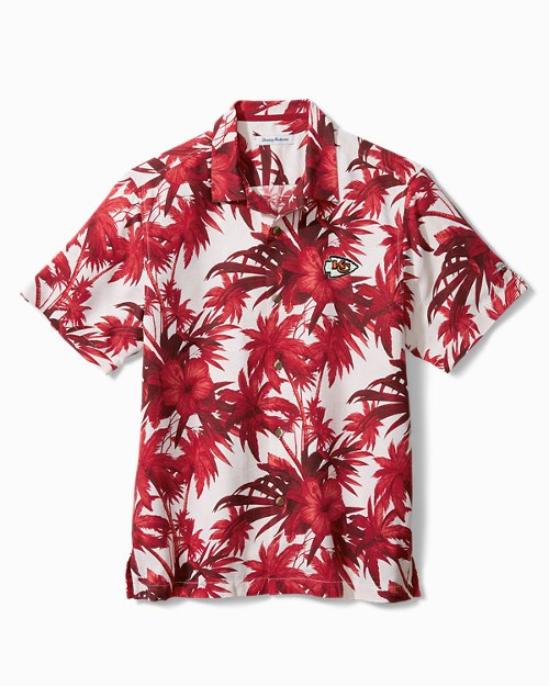 NFL Harbor Island Hibiscus Camp Shirt