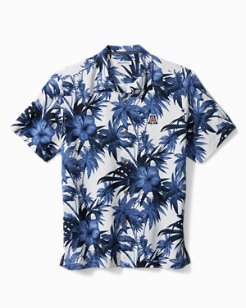 Collegiate Harbor Island Hibiscus Camp Shirt
