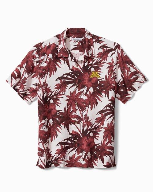 Collegiate Harbor Island Hibiscus Camp Shirt