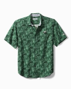 NFL Jungle Shade Silk Camp Shirt