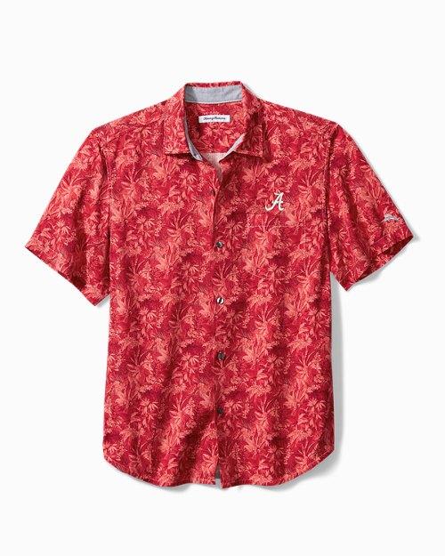 Collegiate Jungle Shade Silk Camp Shirt
