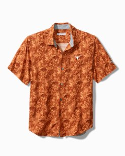 Collegiate Jungle Shade Silk Camp Shirt