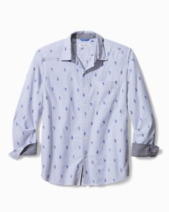 Oxford Isles Hula Stretch Shirt