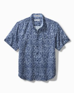 Oasis Ikat Camp Shirt