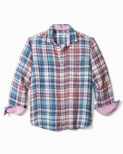 Madrona Madras Linen Shirt