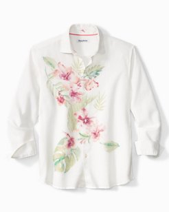 Patina Gardens Stretch-Linen Shirt