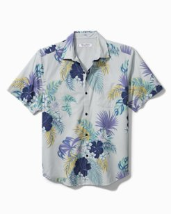 Bahama Coast Blooms Camp Shirt