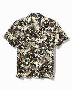 Paradise Plumeria Camp Shirt