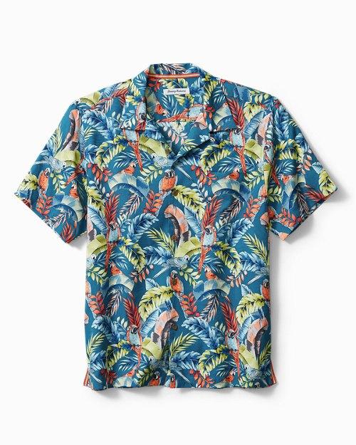Paradiso Parrots Camp Shirt