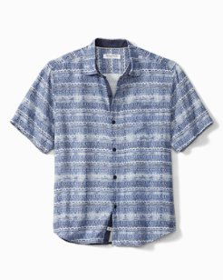 Coconut Point Geo Tide Camp Shirt