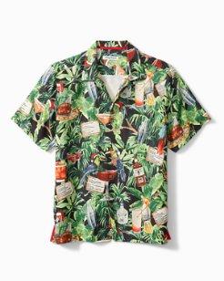 The 12 Drinks Of Christmas Camp Shirt