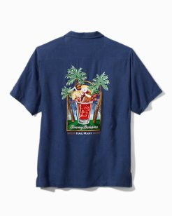 Hail Mary Silk Camp Shirt