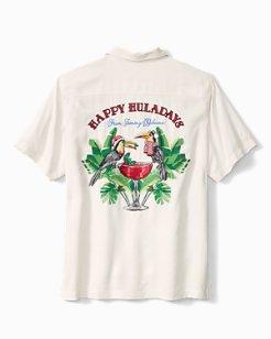 Happy Huladays Camp Shirt
