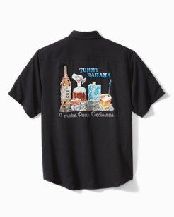 I Make Pour Decisions Camp Shirt