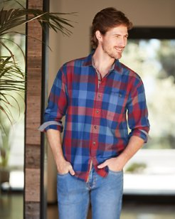 Camano Bay Check Flannel Shirt