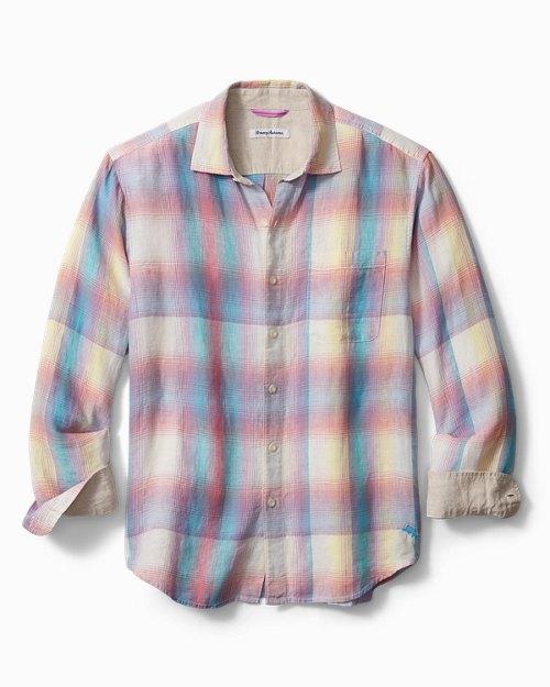 Sunray Ombré Linen Shirt