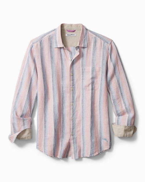 Stripe Del Sol Linen Shirt