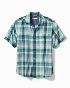 Cala Beach Plaid Camp Shirt