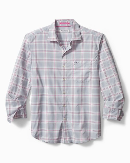 Siesta Key Nassau Plaid IslandZone® Shirt